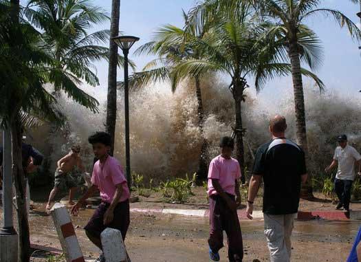 tsunami 2004 en Ao Nang, krabi - Thailandia
