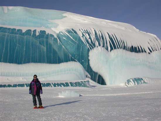 tsunami congelado Antártida