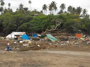 Efectos tsunami Samoa 2009