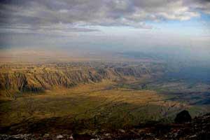 valle de Afar, rift en  Eetiopía