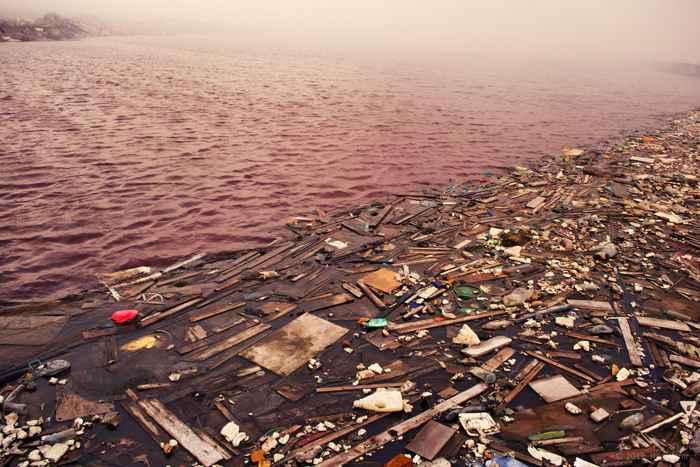 basura marina en Thilafushi