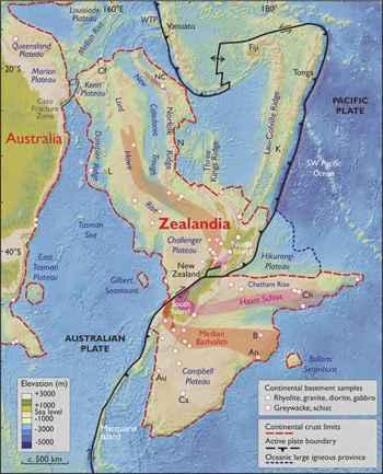 Zealandia mapa