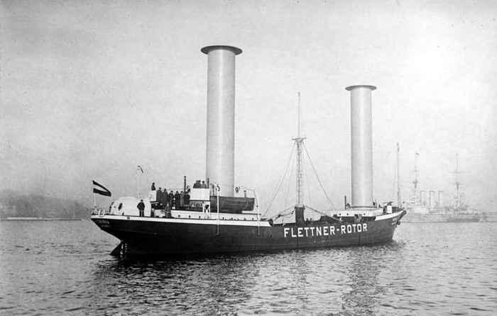 barco de Flettner