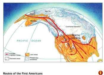 migración a las Américas desde Beringia