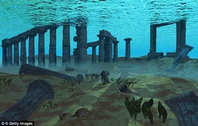 ciudad perdida de la Atlántida