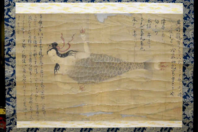 dibujo japonés de sirena
