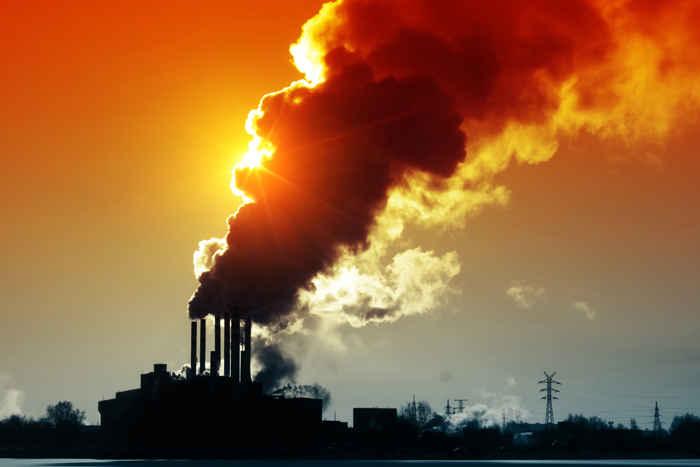 emisiones de carbono a la atmósfera