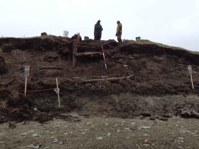 excavación arqueológica de Walakpa, Alaska