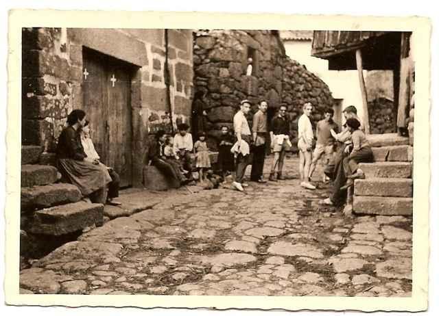 foto antigua de Vilarinho das Furnas