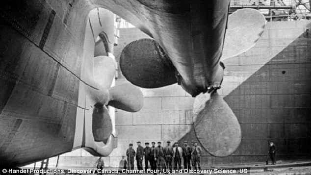 hélices del Titanic