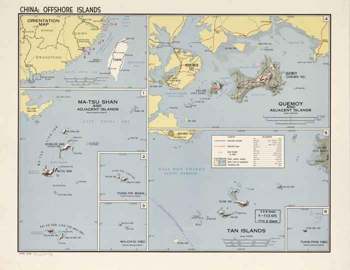 islas exteriores chinas