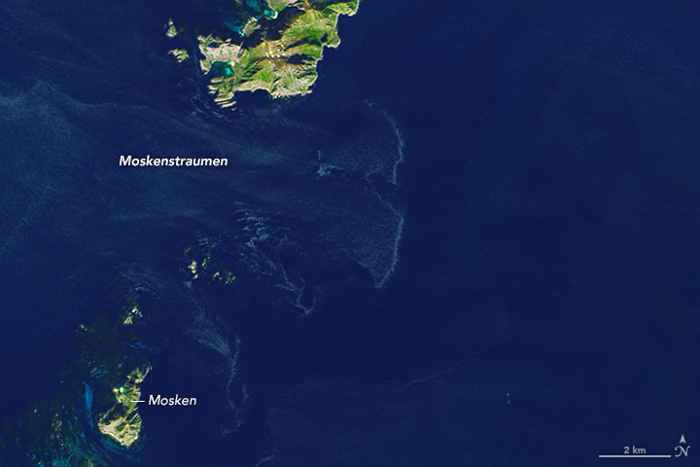 maelstrom en las islas Lofoten