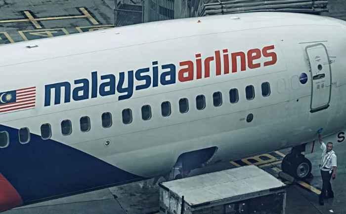 Malaysia Airlines seguimiento por satélite
