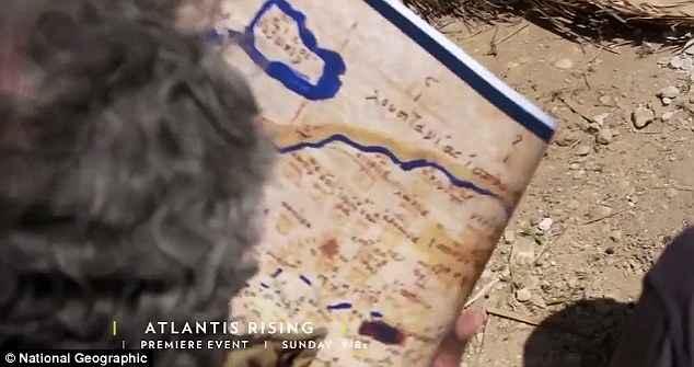 mapa de posibles localizaciones de la Atlántida