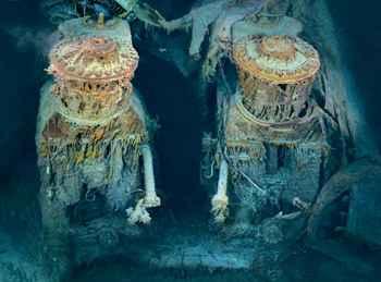 motores el Titanic