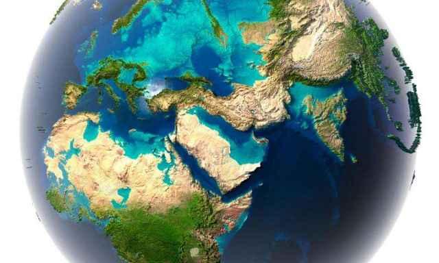 océanos de la Tierra