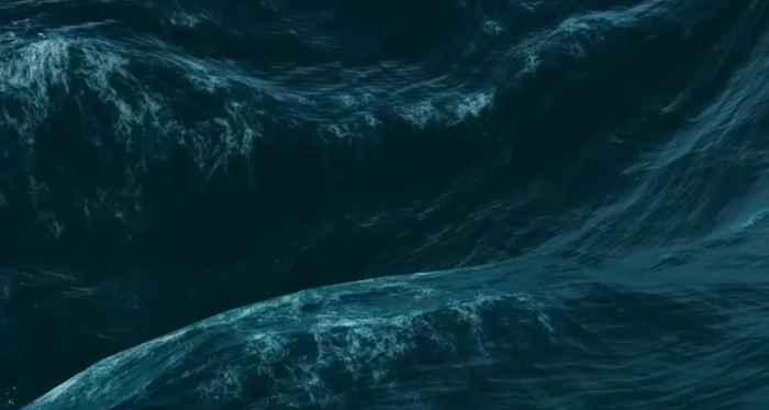 olas oceánicas