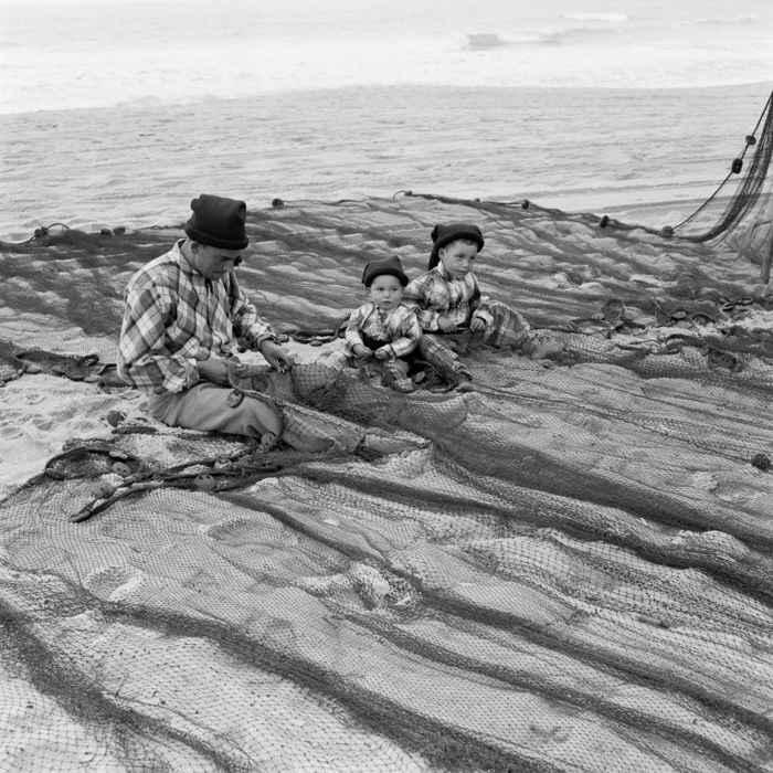 pesca años 50 en Portugal