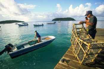 pescadores en Puerto Rico