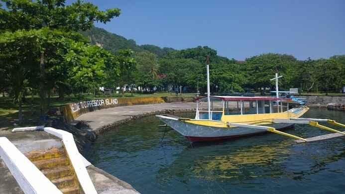 puerto de la isla del Corregidor