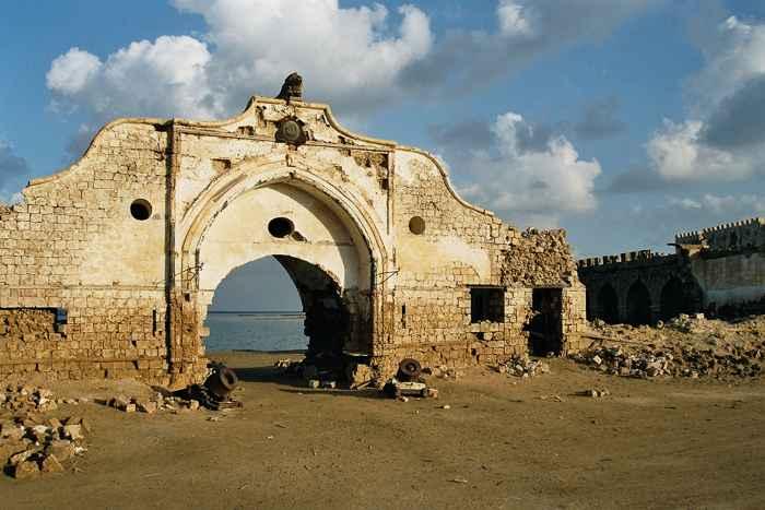 ruinas de la isla de Suakin