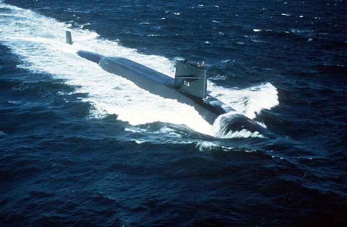 submarino estadounidense