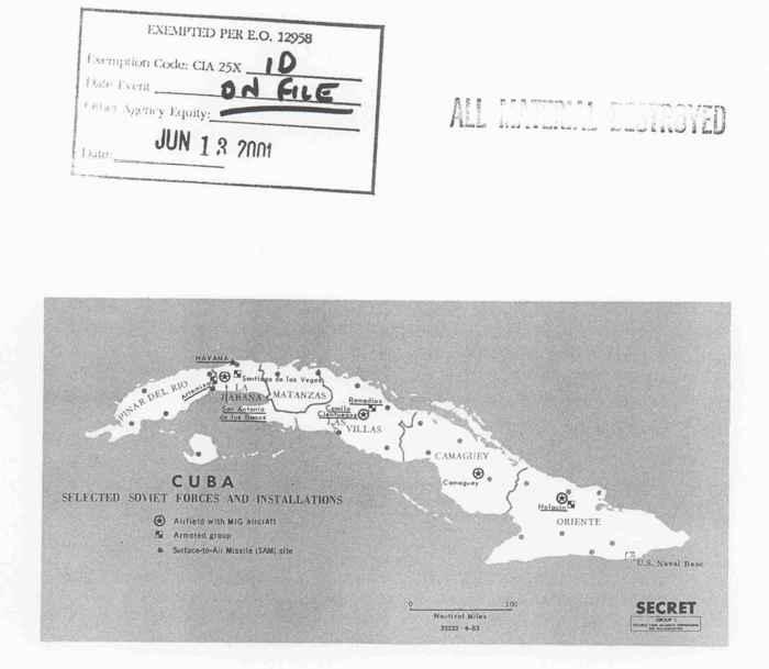 tropas soviético-cubanas en 1963