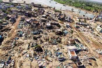 tsunami de 2004 en Nicobar