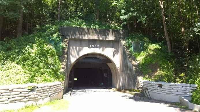 túneles Malinta en la isla del Corregidor