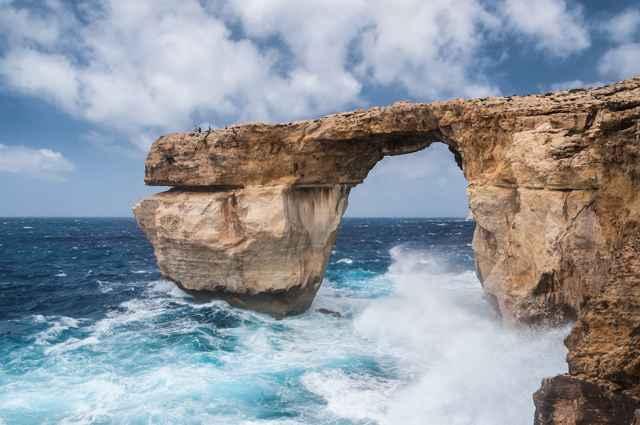 Ventana Azul de Malta