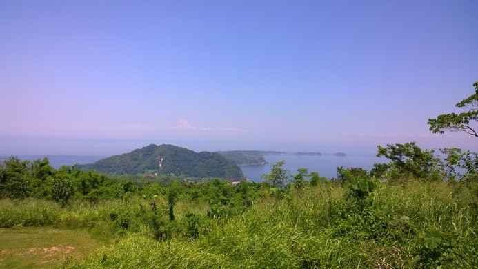 vista general de la isla del Corregidor, Filipinas