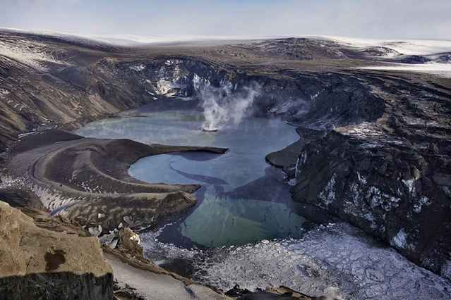 volcán Grímsvötn, Islandia