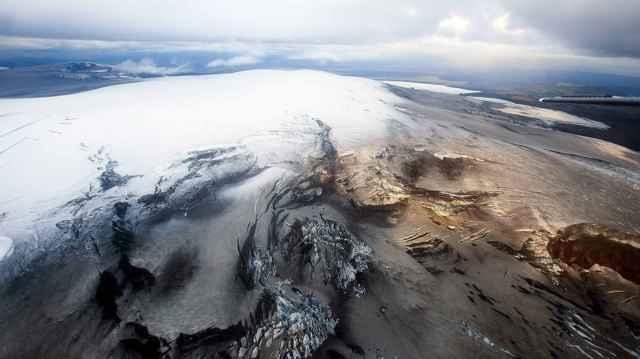 volcán Katla en Islandia