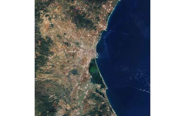 Valencia desde satélite