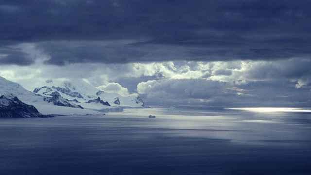 cielos de la Antártida