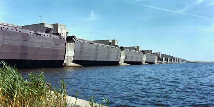 dique del Delta Works, Países Bajos