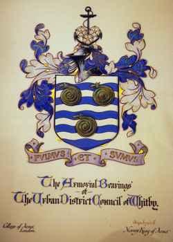 escudo de armas de Whitby