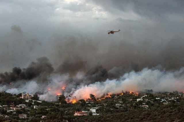 incendios forestales en Grecia