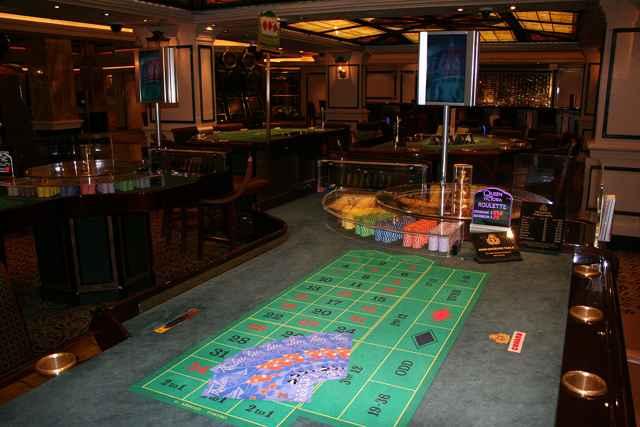 interior de un barco casino