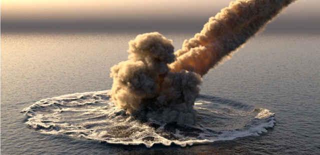 meteorito cae en la costa de EE.UU