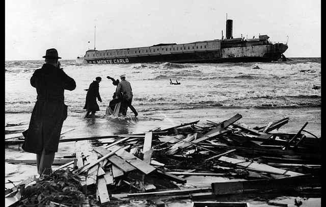 naufragio del SS Monte Carlo