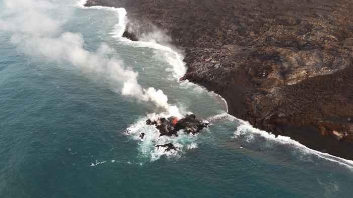 nuevo islote en Hawái