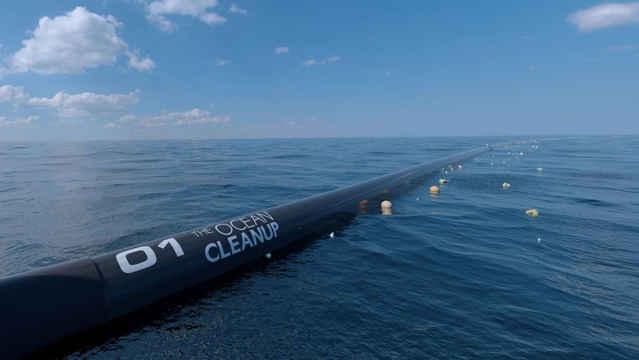 Ocean Cleanup, diseño final