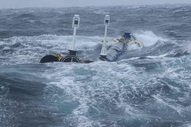 Ocean Cleanup, prueba de viento y olas