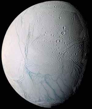 rayas de tigre en Encelado