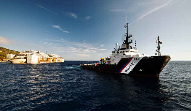 reflote del Costa Concordia