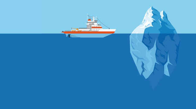 remolcar un iceberg