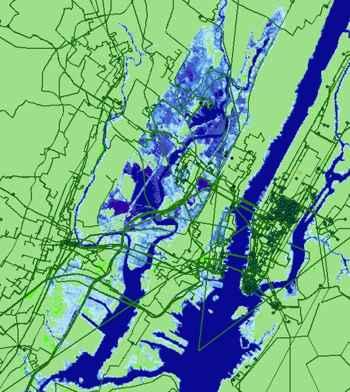 subida del nivel del mar en Nueva York