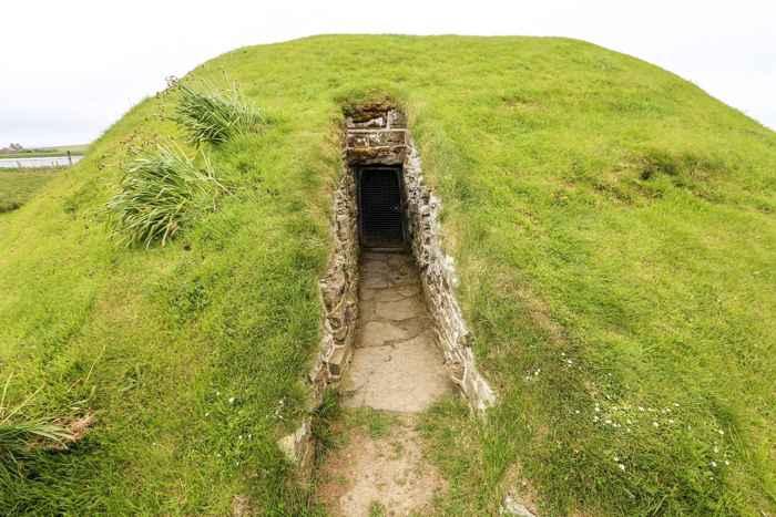 cámara funeraria neolítica en las Islas Orkney