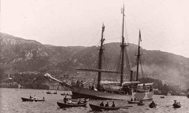 buque Fran de Fridtjof Nansen